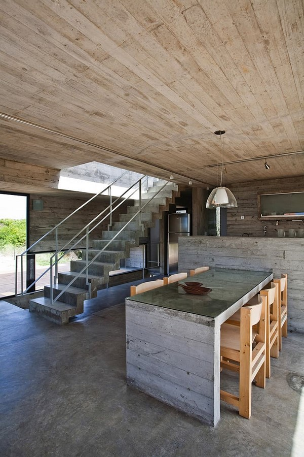 50 Living rooms enhanced by concrete - Sheet33
