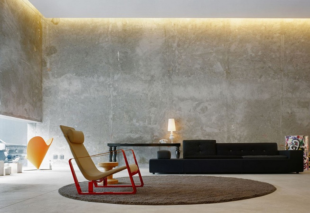 50 Living rooms enhanced by concrete - Sheet36