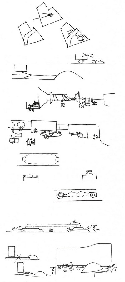 French Communist Party Headquarters by Oscar Niemeyer: Along with the City - Sheet1