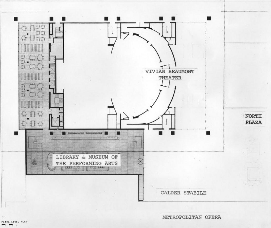 Vivian Beaumont Theater by Eero Saarinen: Within the frames - Sheet2