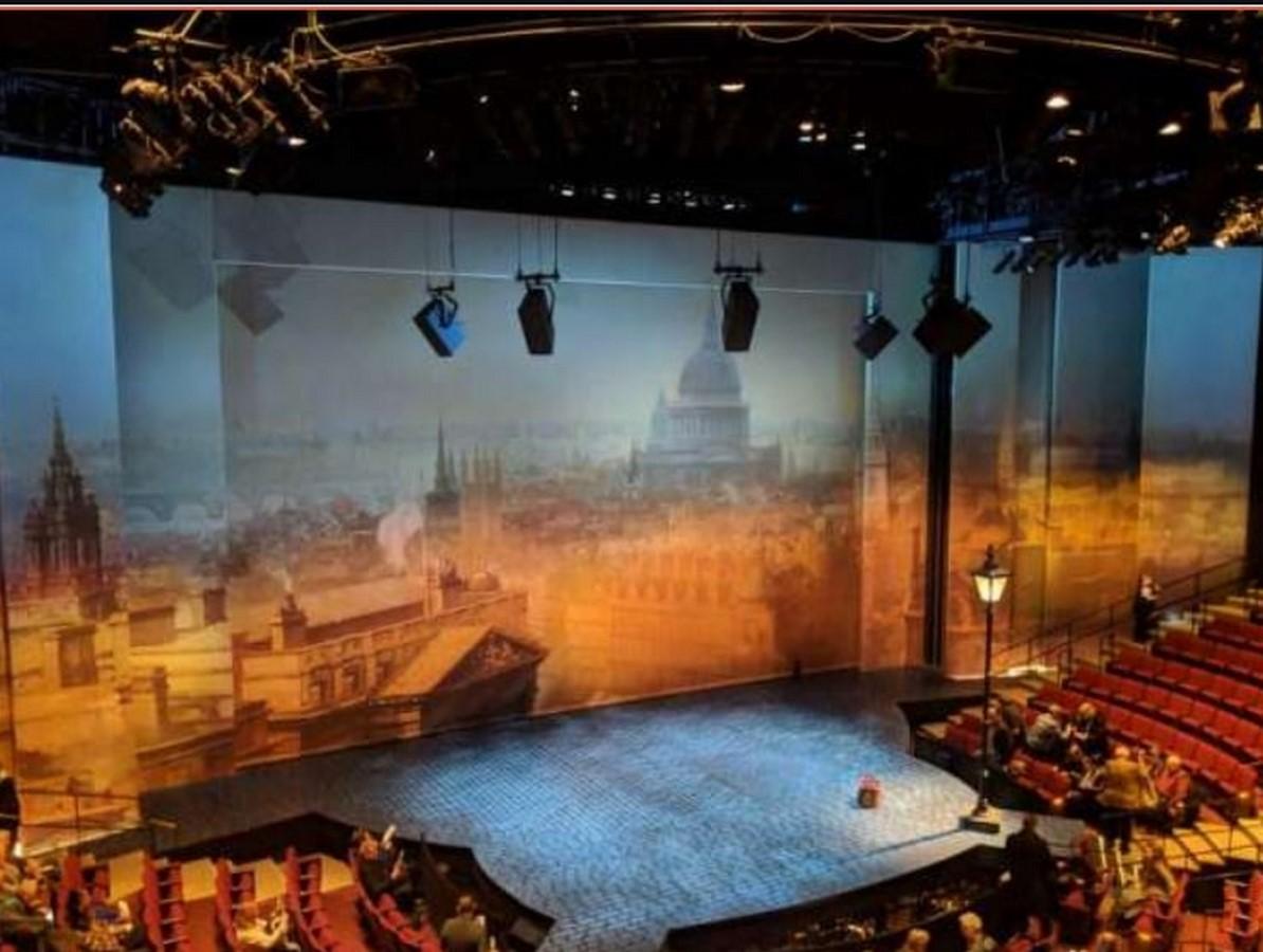 Vivian Beaumont Theater by Eero Saarinen: Within the frames - Sheet5