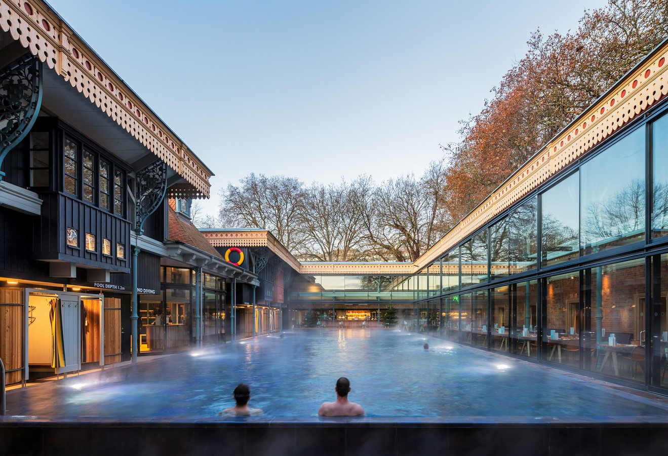 Thames Lido, UK, by Marshall And Kendon Architects - Sheet1