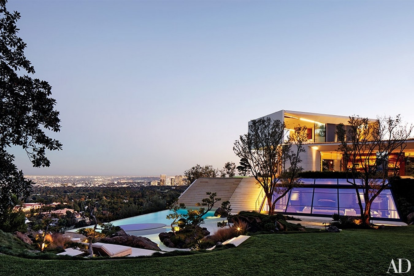 Michael Bay's Los Angeles residence, by Chad Oppenheim - Sheet1