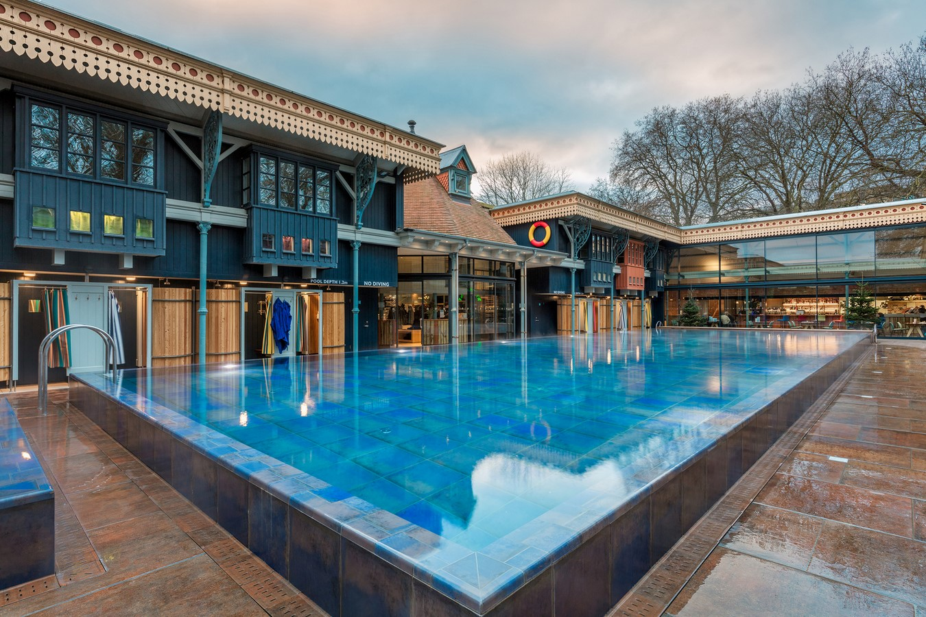 Thames Lido, UK, by Marshall And Kendon Architects - Sheet2