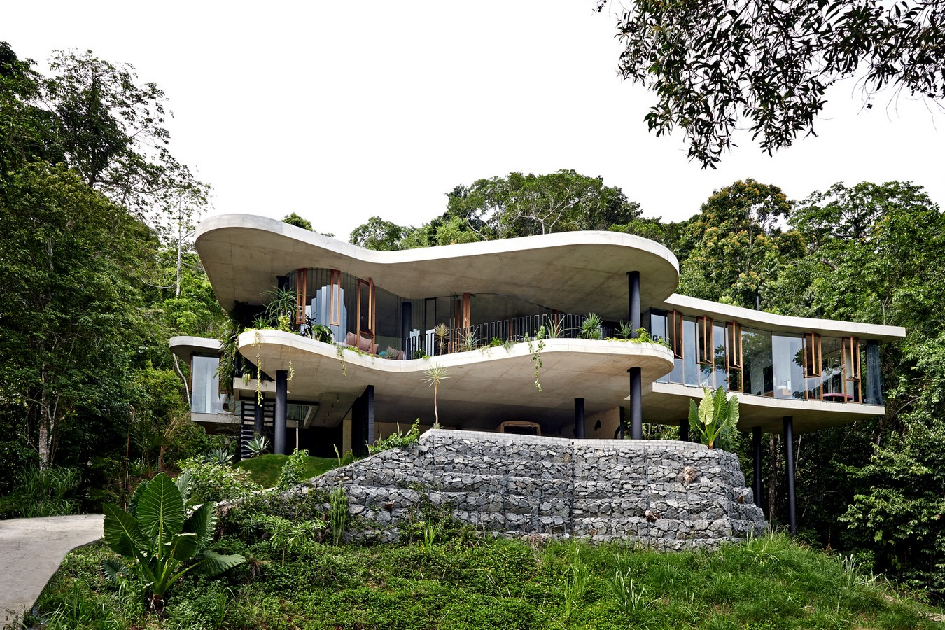20 Best Examples of Contemporary style house - Sheet29