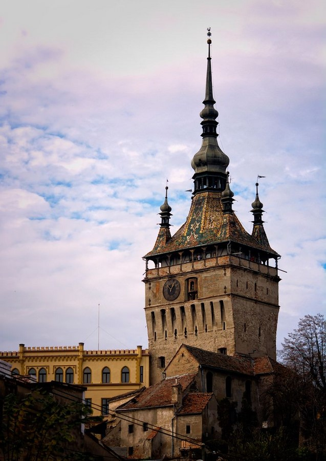 Places to visit in Sighișoara for the Travelling Architect Sheet1