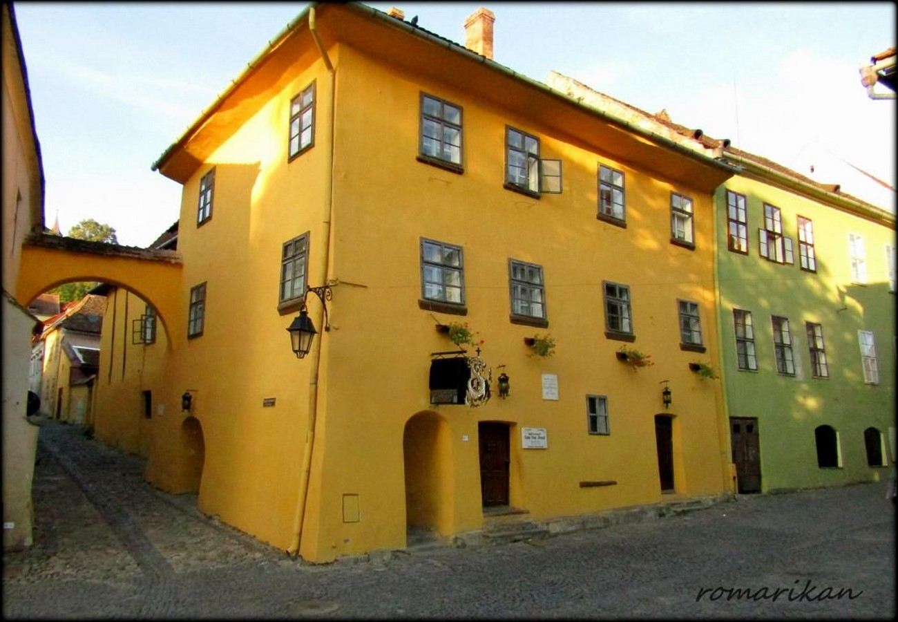 Places to visit in Sighișoara for the Travelling Architect Sheet33