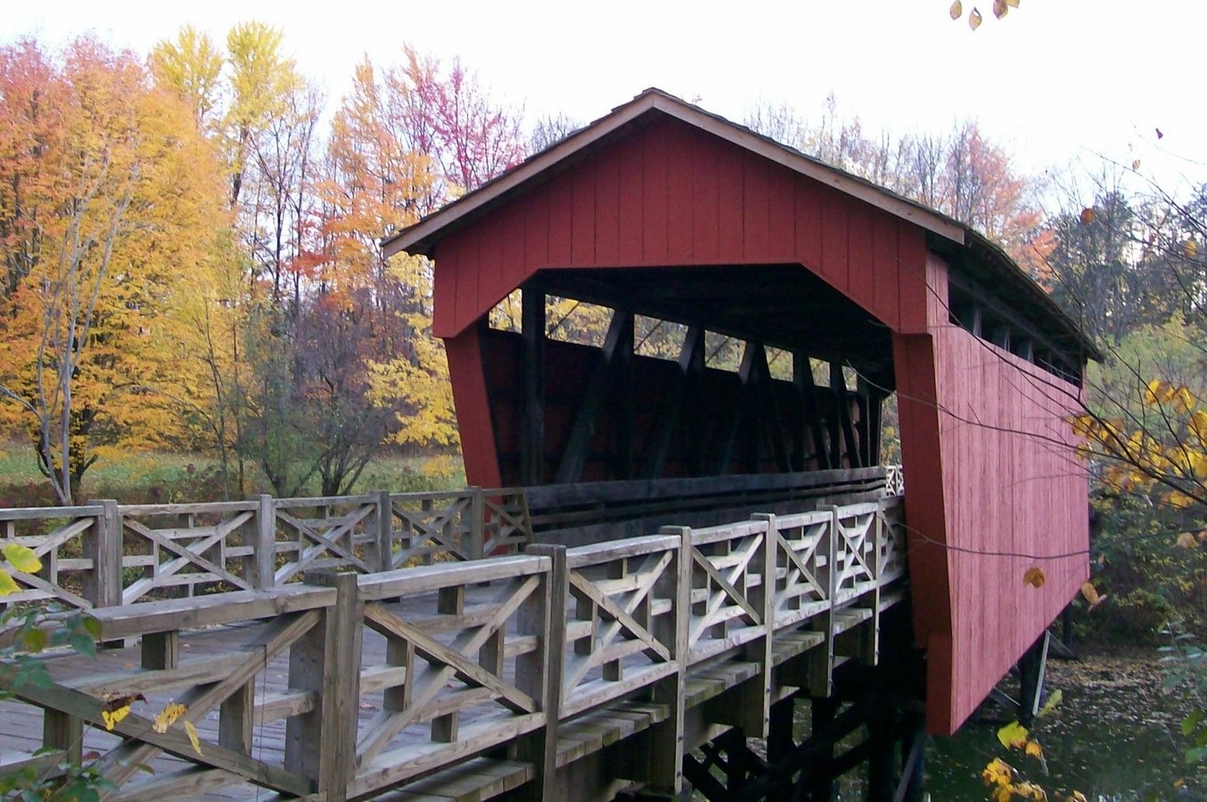 Campbell's covered bridge - Sheet5