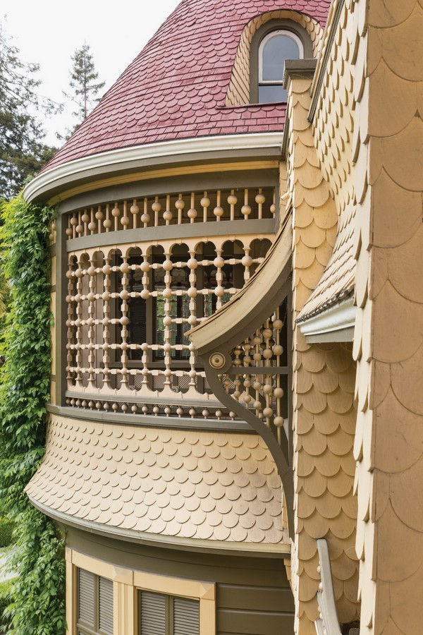 Winchester Mystery House, California, USA: Architectural Mystery - Sheet14