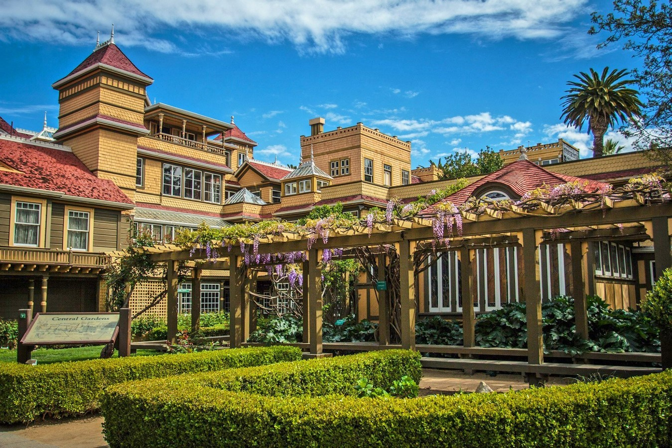 Winchester Mystery House, California, USA: Architectural Mystery - Sheet1