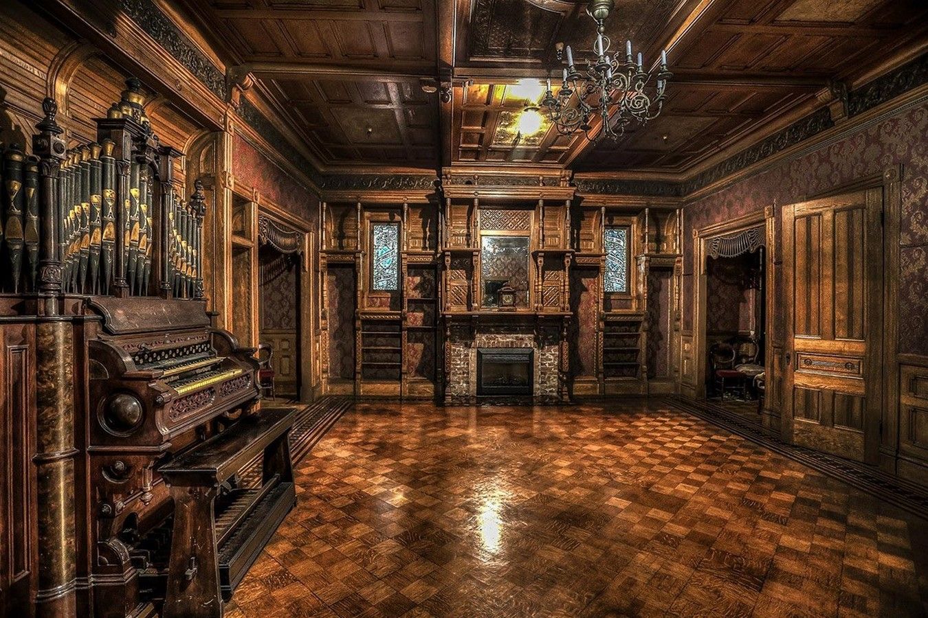 Winchester Mystery House, California, USA: Architectural Mystery - Sheet10