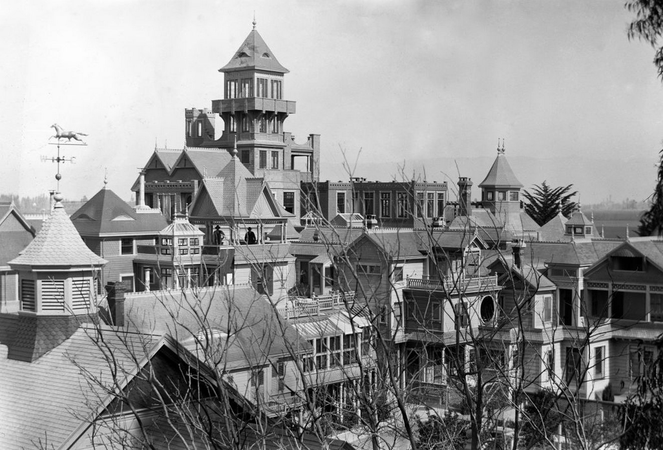 Winchester Mystery House, California, USA: Architectural Mystery - Sheet3