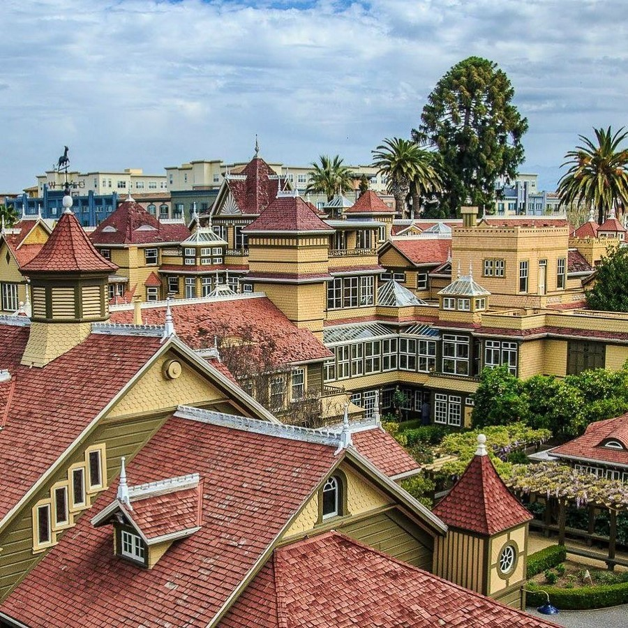 Winchester Mystery House, California, USA: Architectural Mystery - Sheet4