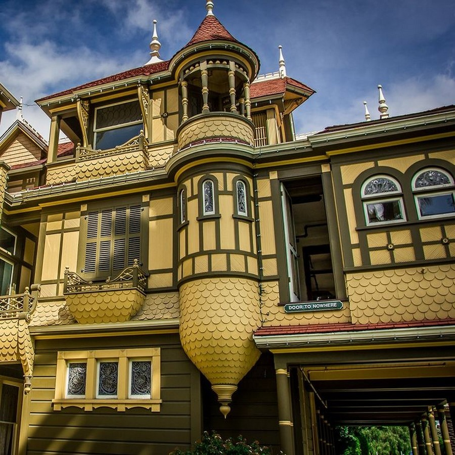 Winchester Mystery House, California, USA: Architectural Mystery - Sheet6
