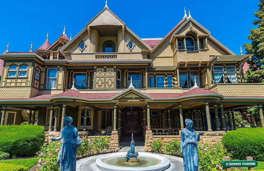 Winchester Mystery House, California, USA: Architectural Mystery