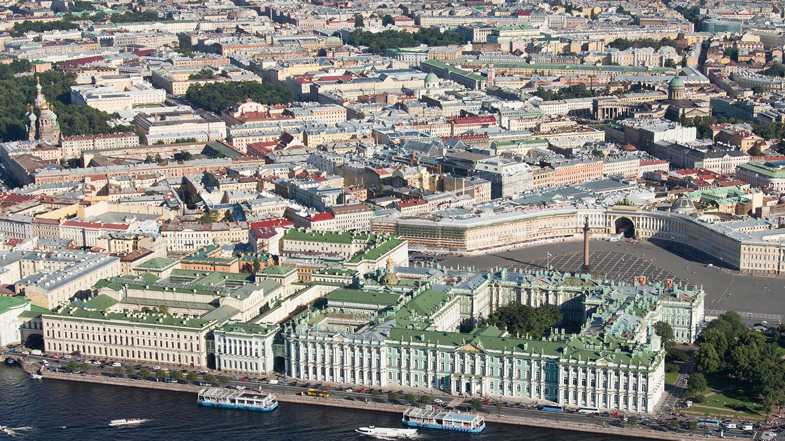 State Hermitage Museum by Francesco Bartolomeo Rastrelli: The second-largest art museum in the world - Sheet1