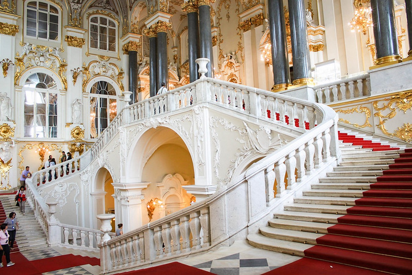 State Hermitage Museum by Francesco Bartolomeo Rastrelli: The second-largest art museum in the world - Sheet12