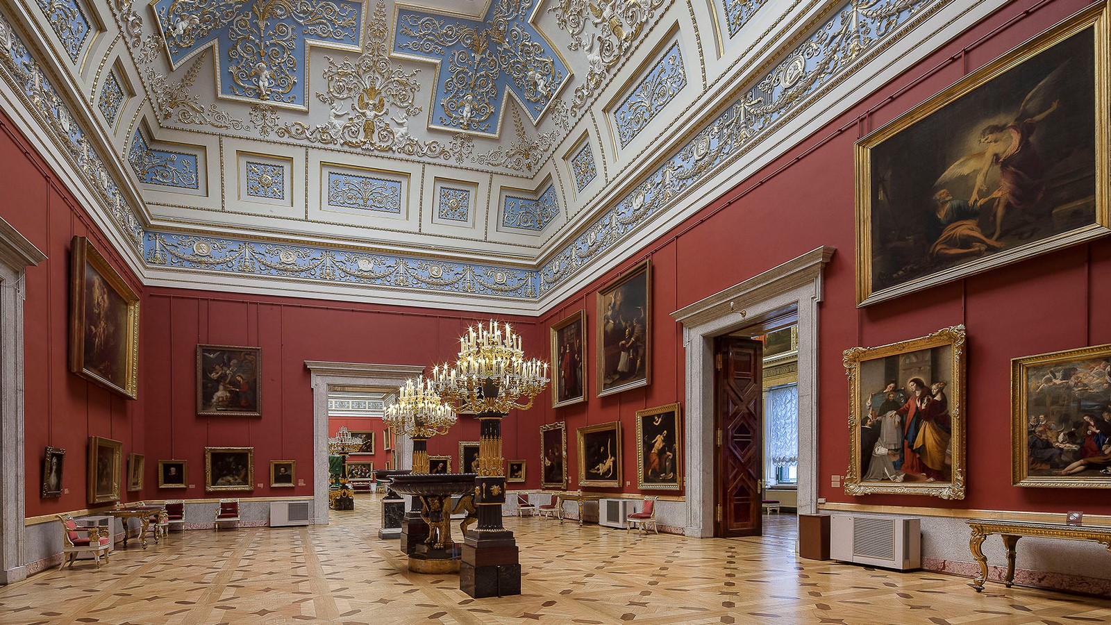 State Hermitage Museum by Francesco Bartolomeo Rastrelli: The second-largest art museum in the world - Sheet2