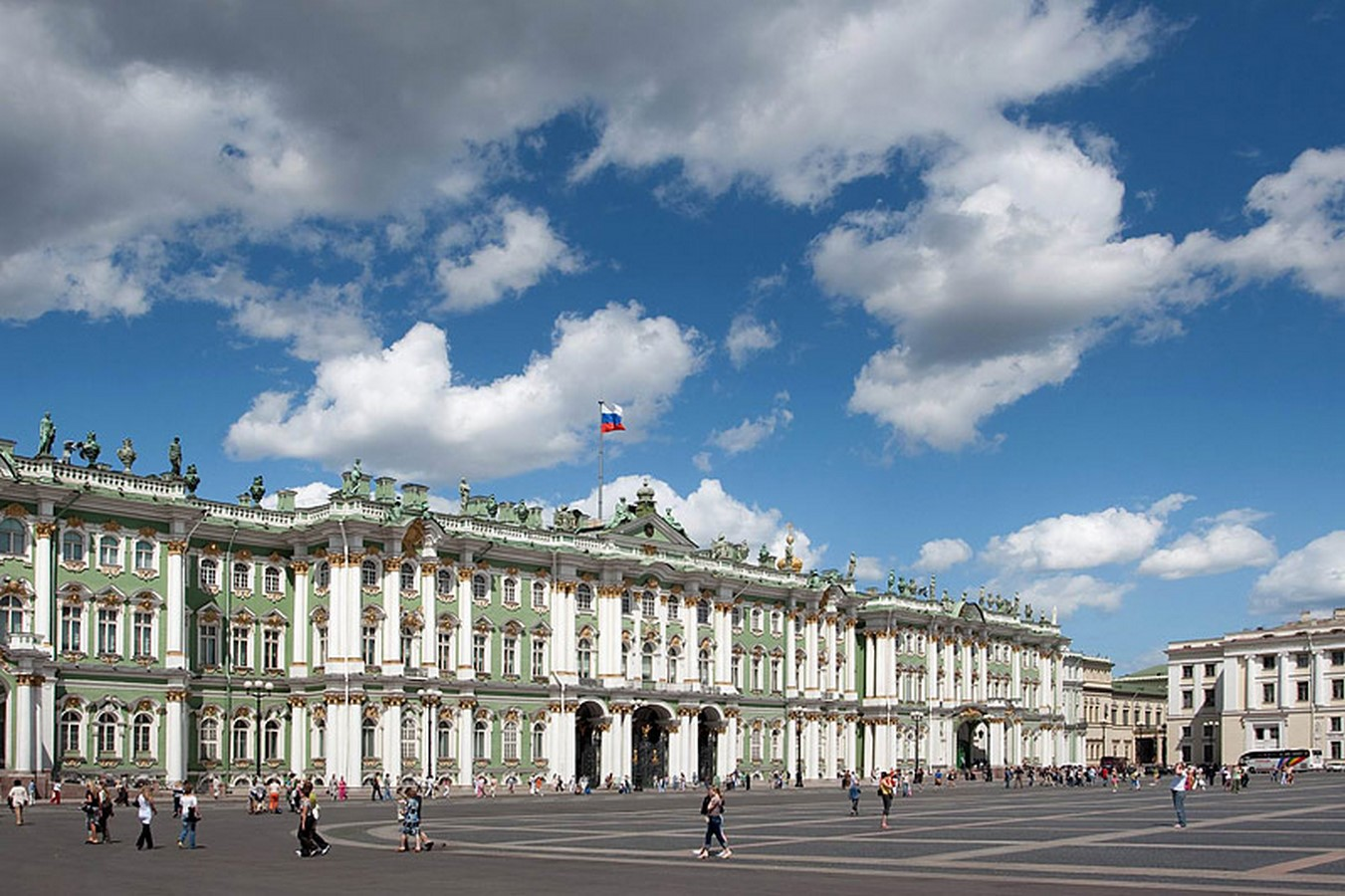 State Hermitage Museum by Francesco Bartolomeo Rastrelli: The second-largest art museum in the world - Sheet5
