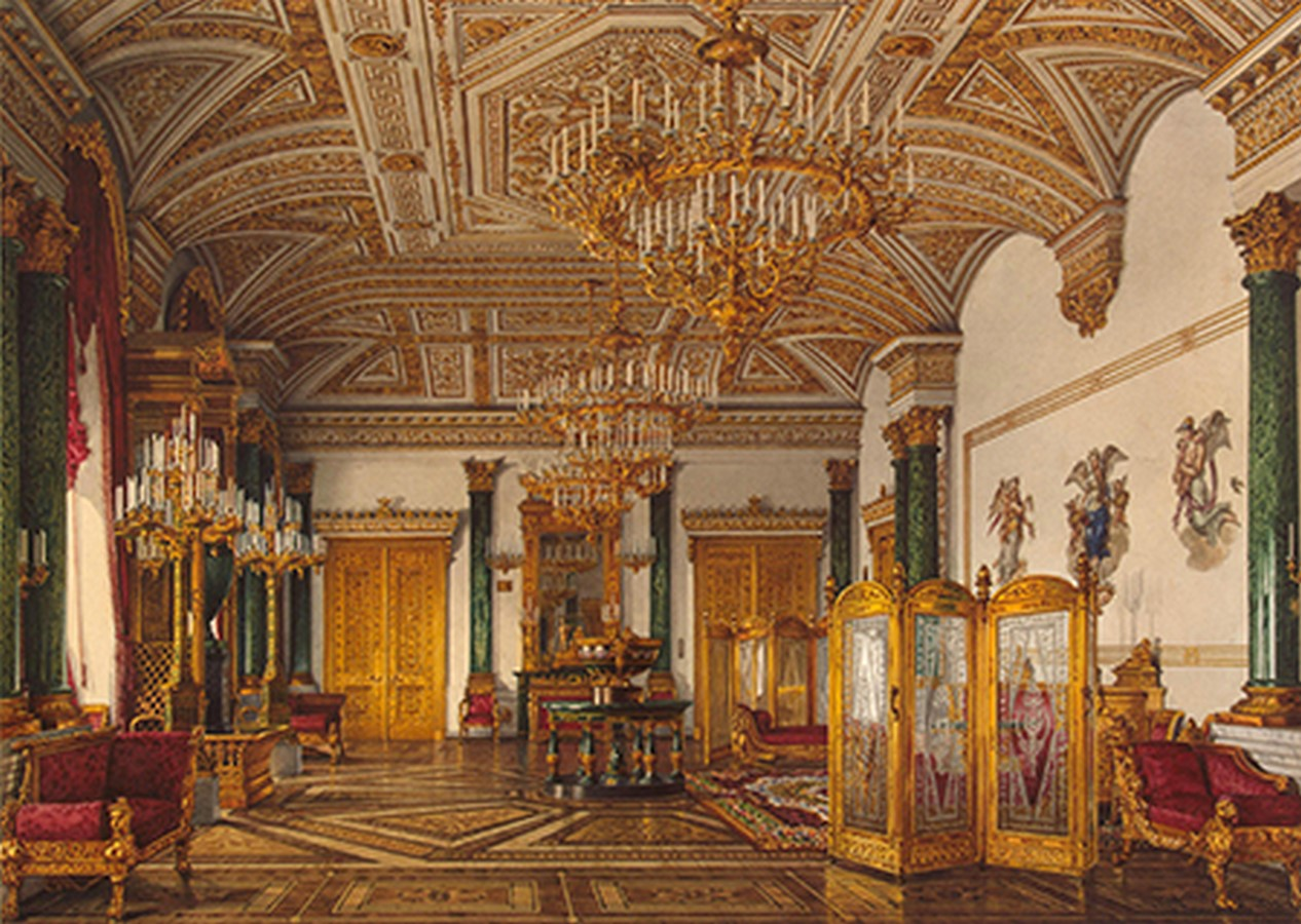 State Hermitage Museum by Francesco Bartolomeo Rastrelli: The second-largest art museum in the world - Sheet9