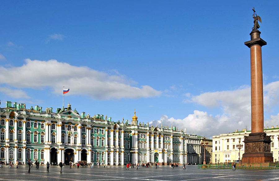 State Hermitage Museum by Francesco Bartolomeo Rastrelli: The second-largest art museum in the world