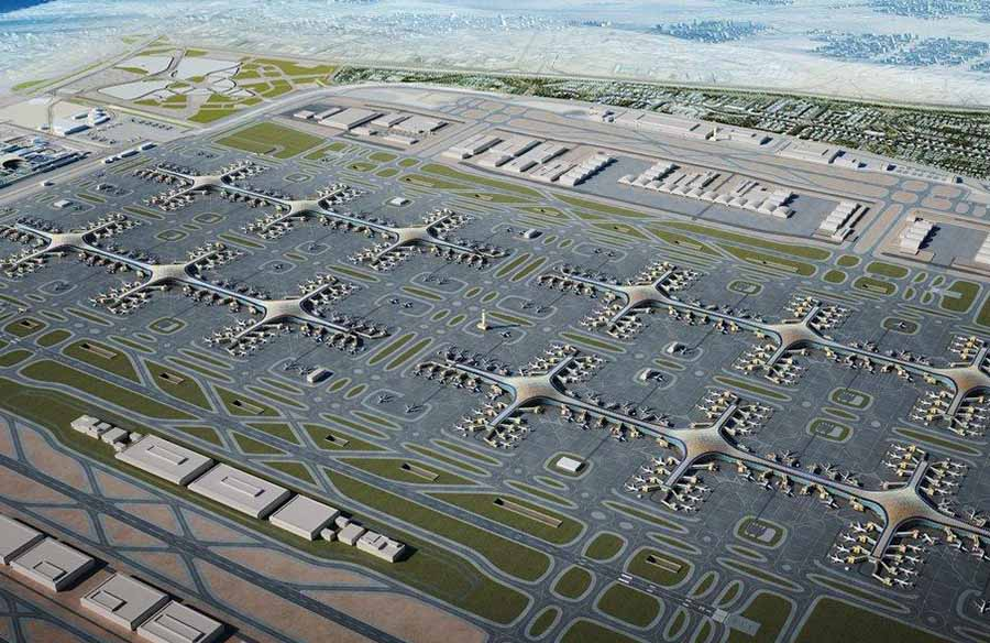 Al Maktoum International Airport, Dubai: World's first purpose-built aerotropolis