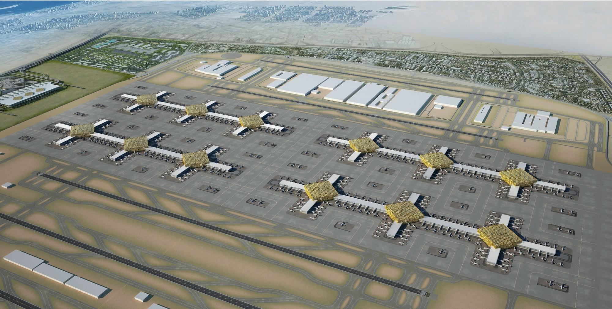Al Maktoum International Airport, Dubai: World's first purpose-built aerotropolis - Sheet2