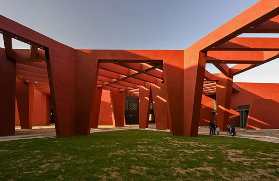 Approach to architecture in India