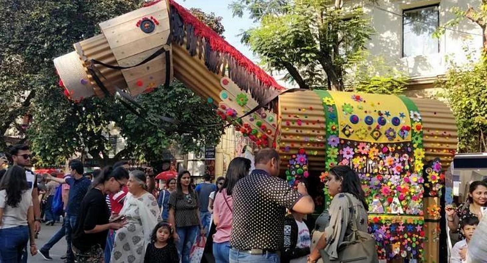 10 Most innovative installations at Kala Ghoda Art Festival, Mumbai - Sheet10