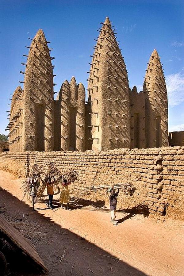 Characteristics of Sudano-Sahelian architecture - Sheet4