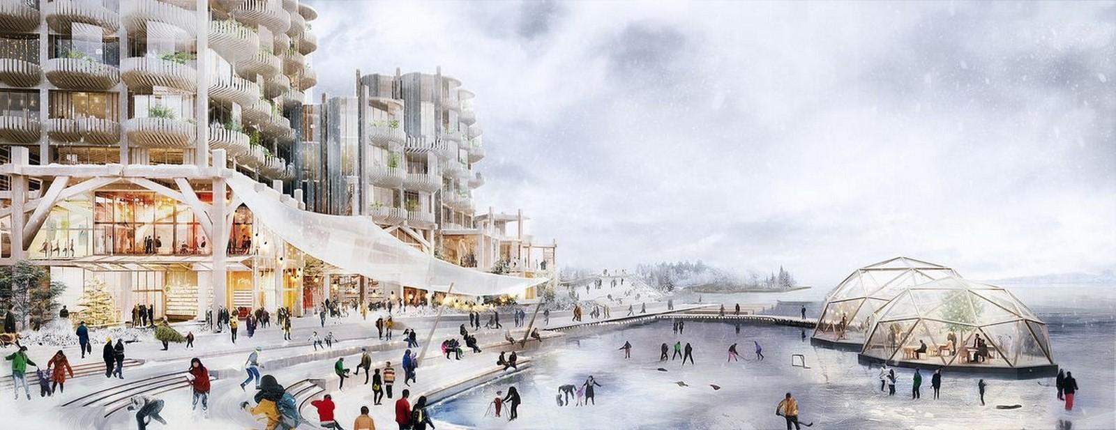 Alphabet's Sidewalk Labs by Snøhetta and Thomas Heatherwick: Mass-timber city - Sheet10