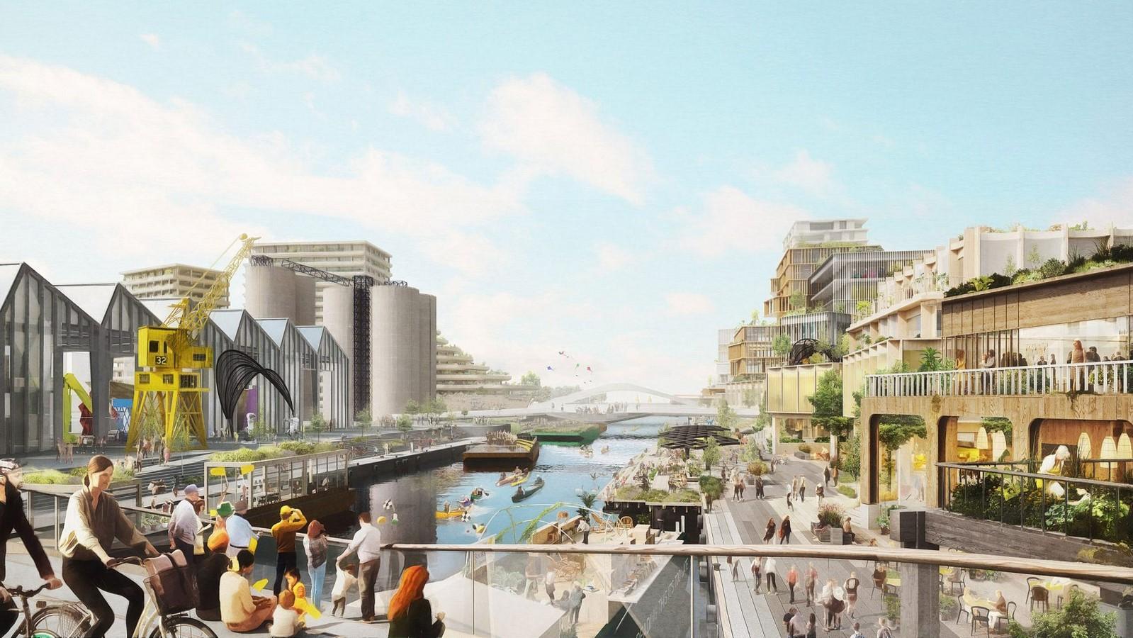 Alphabet's Sidewalk Labs by Snøhetta and Thomas Heatherwick: Mass-timber city - Sheet3