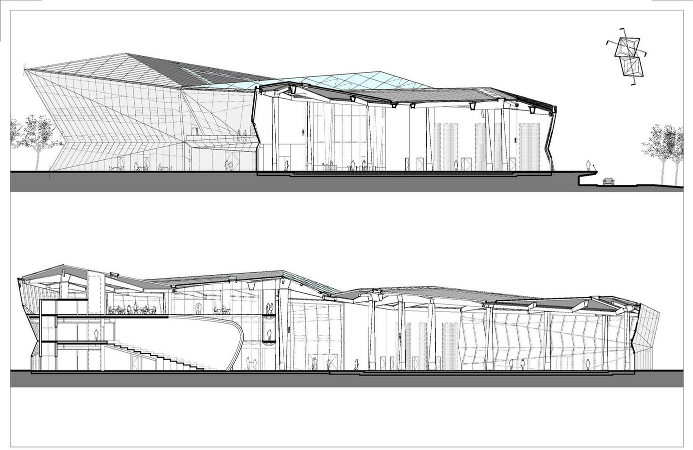 The Crystal by Wilkinson Eyre Architects: A pavilion in a park - Sheet6
