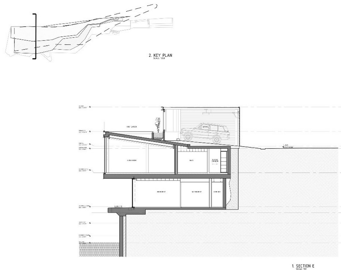 Sculpted House Hovering Over the Mediterranean by SOMA:Floating Houses - Sheet8
