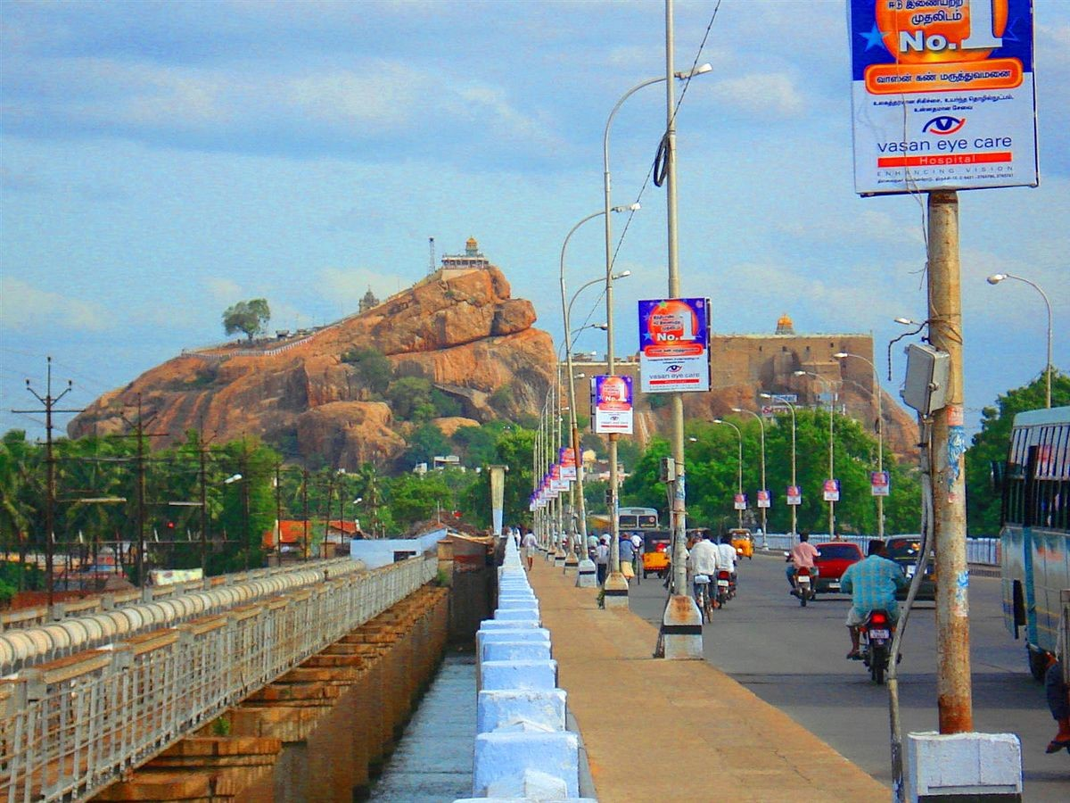 Architecture of Indian Cities: Trichy: The capital of the early Cholas - Sheet2