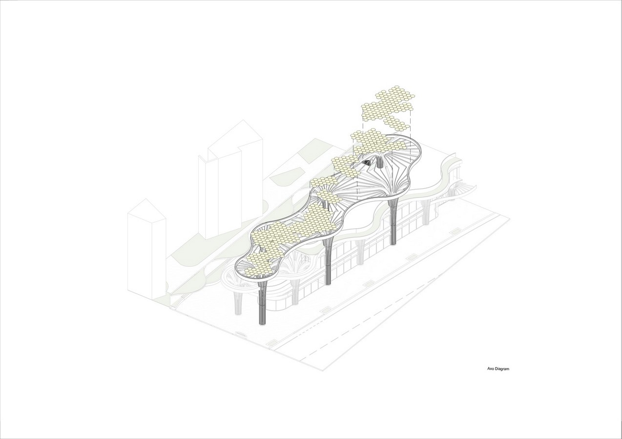 Biophilic Marketplace Inspired by Shanghai's Forests designed by Koichi Takada Architects - Sheet8