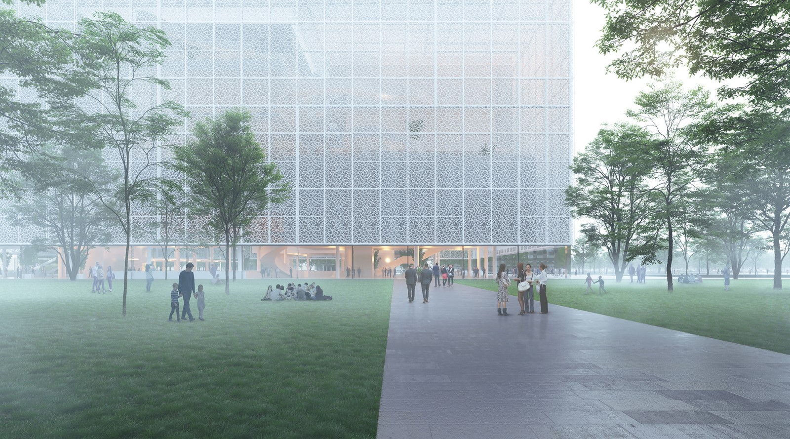 Shenzhen exhibition complex with transparent facade designed by Sou Fujimoto - Sheet2