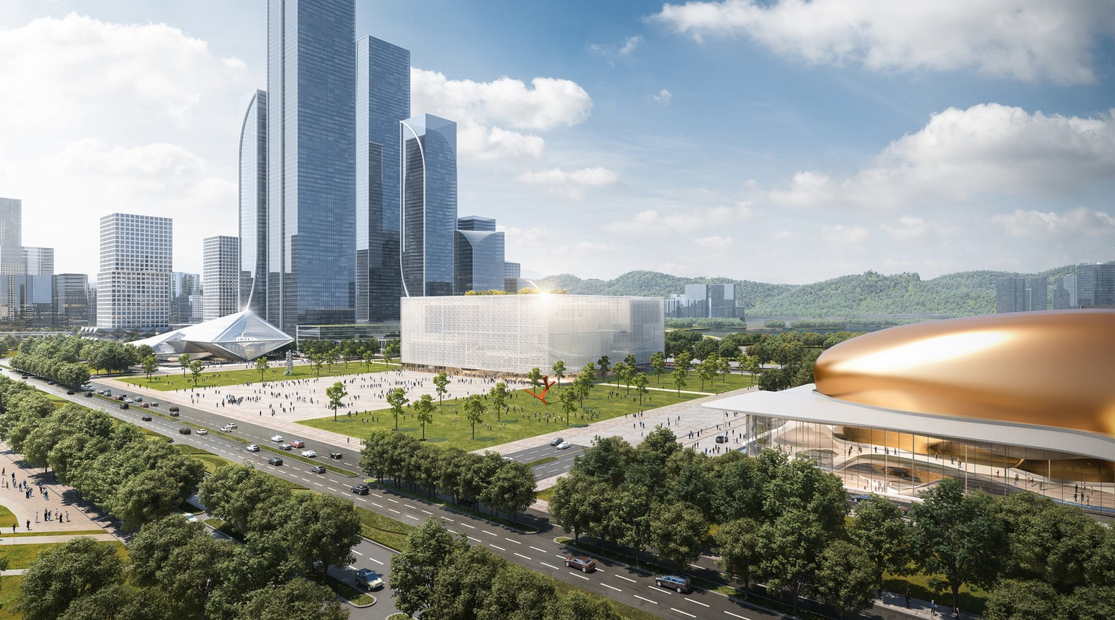 Shenzhen exhibition complex with transparent facade designed by Sou Fujimoto - Sheet4