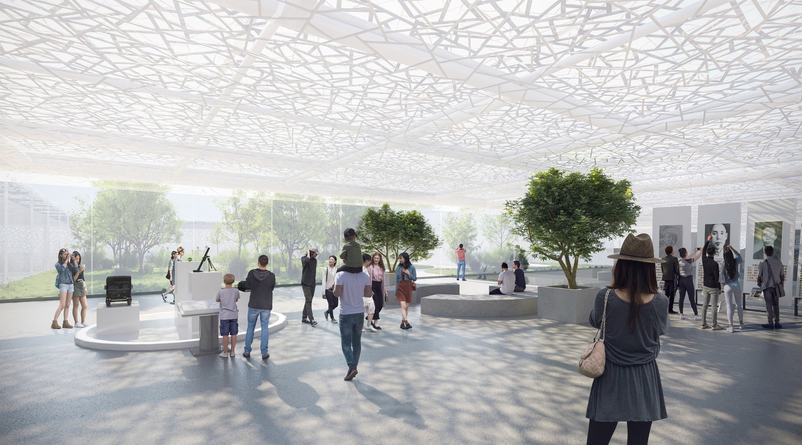 Shenzhen exhibition complex with transparent facade designed by Sou Fujimoto - Sheet5