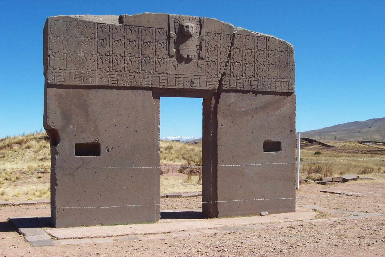 Tiwanaku Archaeological Site - Sheet3