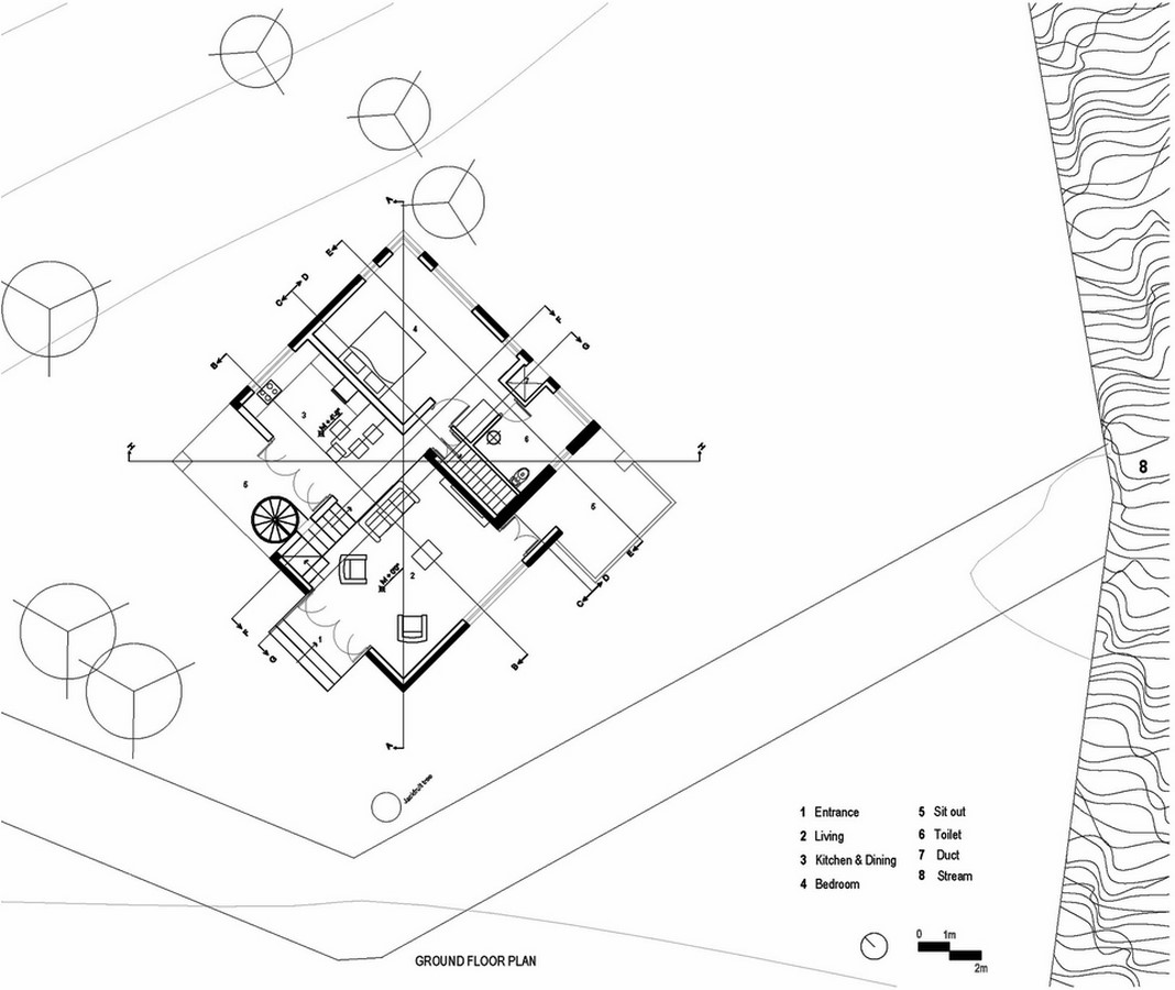 Hornbill House at Oland Estate by Chitra Vishwanath: End of the road property - Sheet5