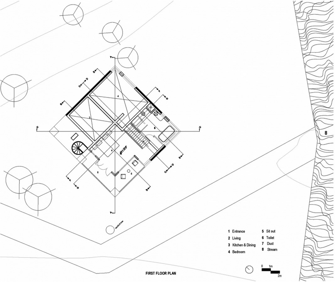 Hornbill House at Oland Estate by Chitra Vishwanath: End of the road property - Sheet6