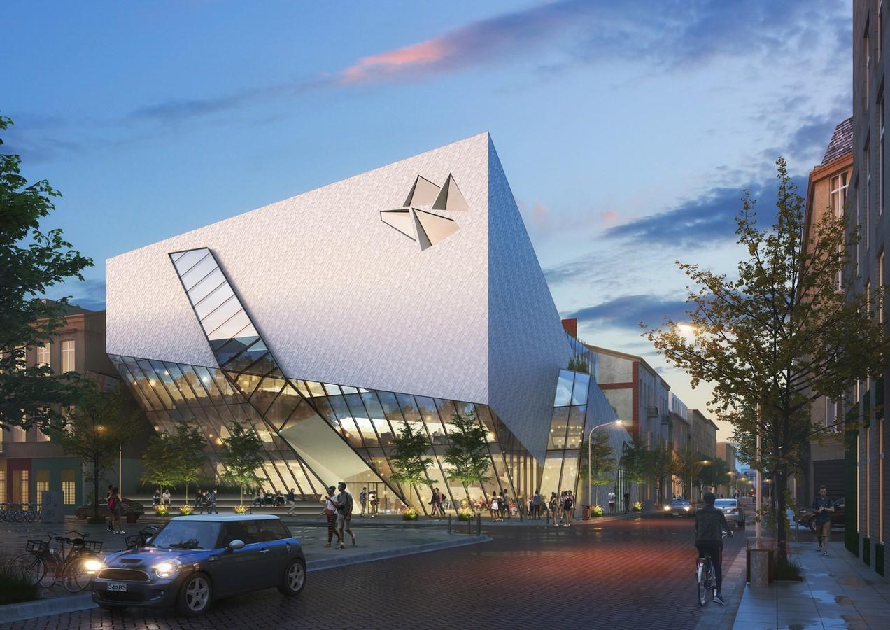 Łódź Architecture Center and Nexus21 revealed by Daniel Libeskind - Sheet2