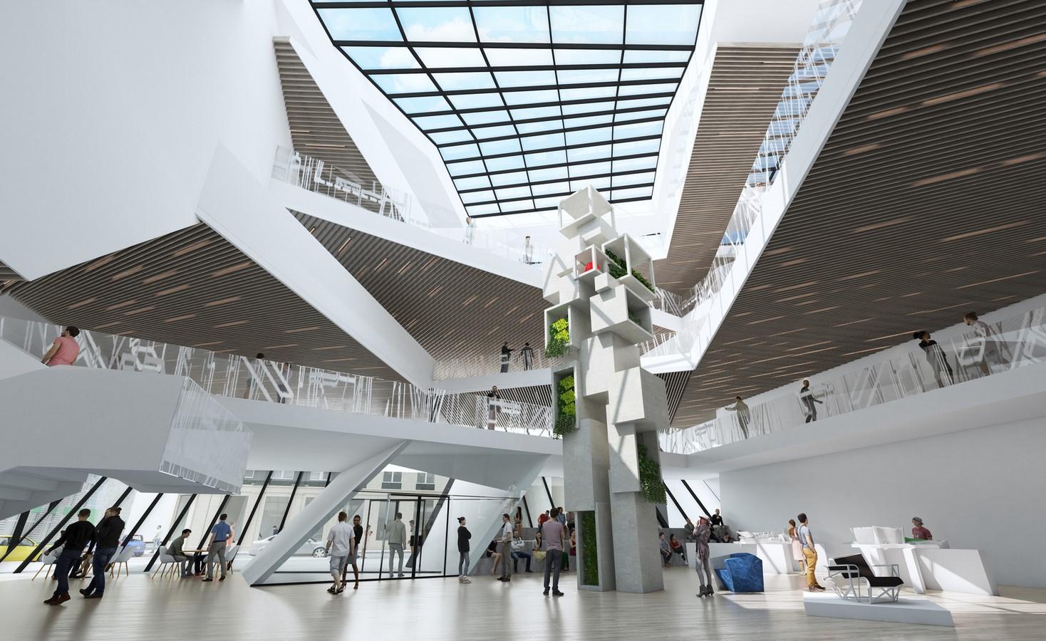 Łódź Architecture Center and Nexus21 revealed by Daniel Libeskind - Sheet3