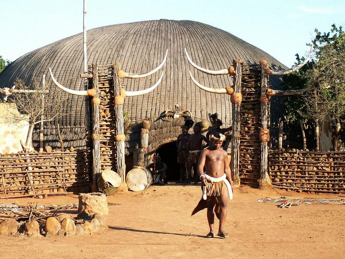 An inside on Architecture of Zulu Tribe - Sheet6
