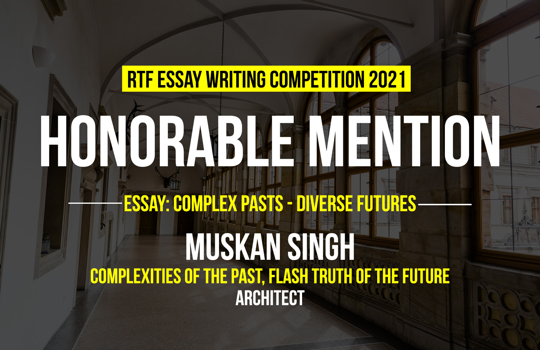 Complexities of the Past, Flash Truth of the Future By Muskan Singh