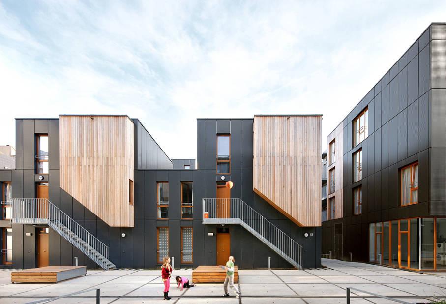 Savonnerie Heymans Public Housing, Brussels - Sheet1