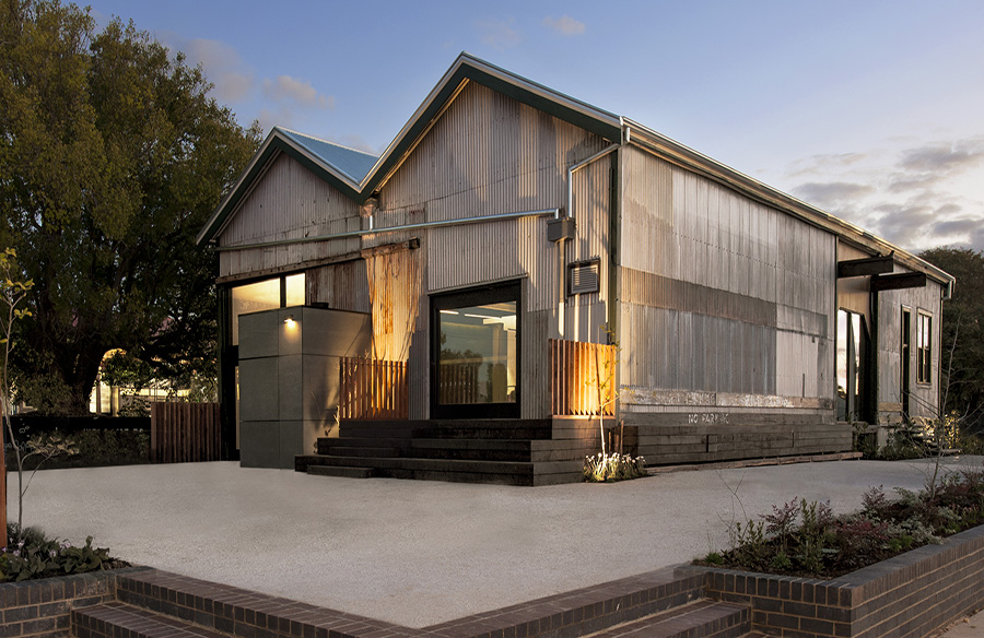 The Goods Shed by Cox Architecture
