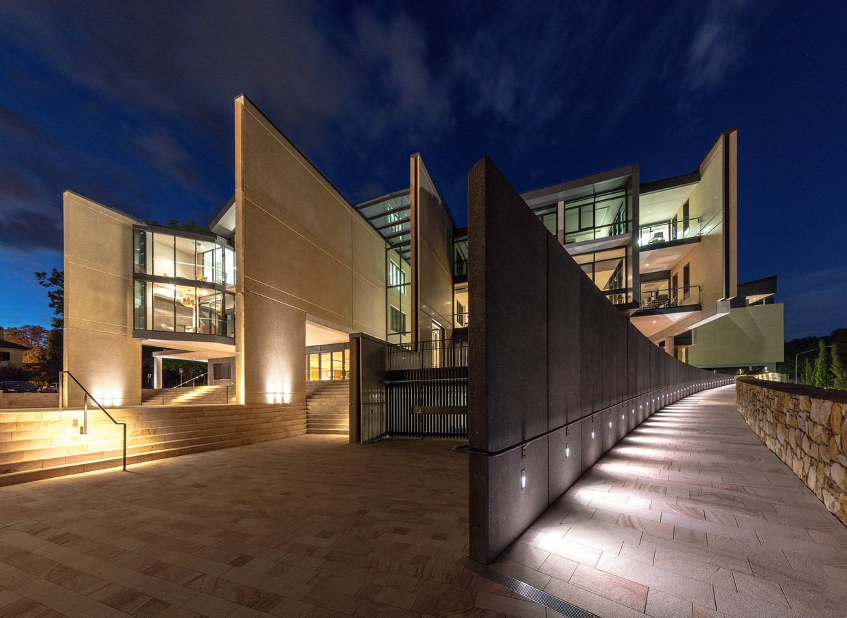 St Christopher's Cathedral Precinct by Cox Architecture - Sheet1