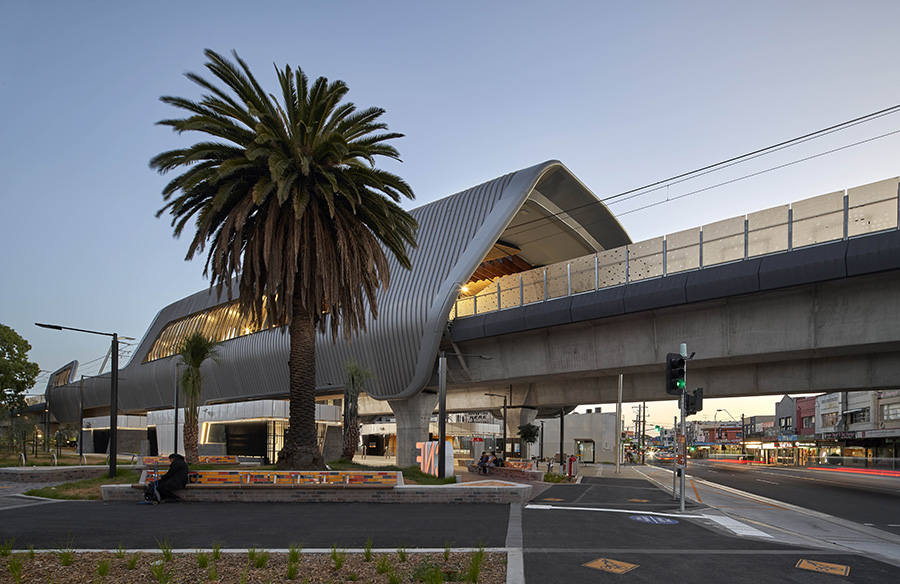 Caulfield to Dandenong Level Crossing Removal by Cox Architecture